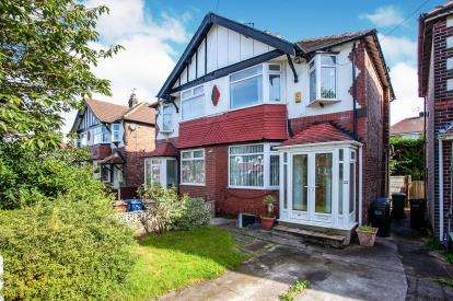 3 Bedrooms Semi Detached House for sale in Canterbury Road, Offerton, Stockport, Cheshire