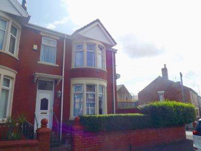 3 Bedrooms End Of Terrace House for sale in Rose Avenue, Blackpool, Lancashire, ., FY1