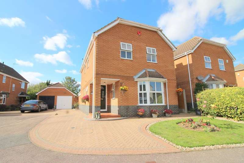 5 Bedrooms Detached House for sale in Broadacres, Luton, Bedfordshire, LU2 7YF