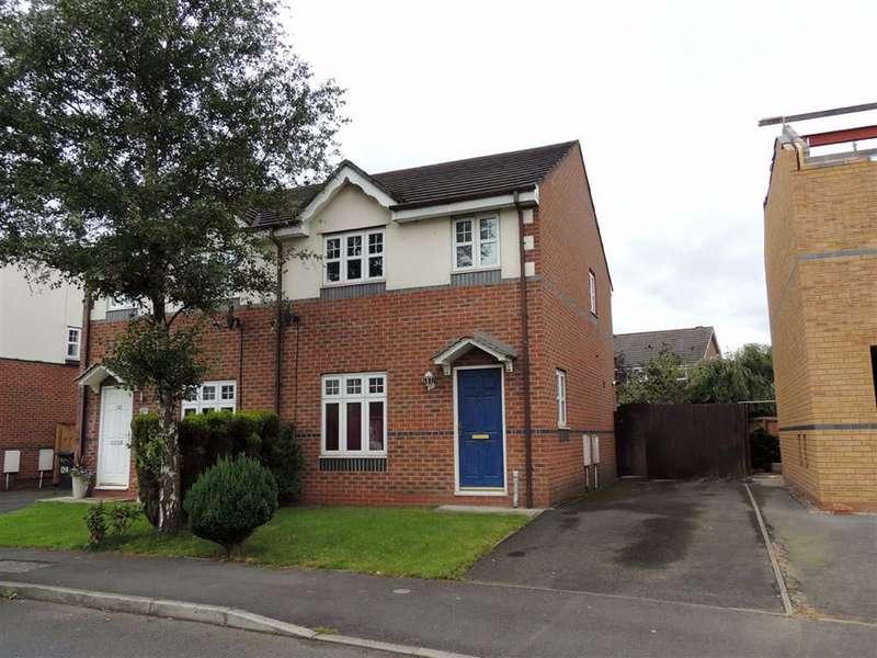 3 Bedrooms Semi Detached House for sale in Waltersgreen Crescent, Golborne, Warrington