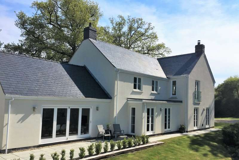 4 Bedrooms Detached House for sale in Coed Y Caerau Lane, Monmouthshire, Monmouthshire, NP18
