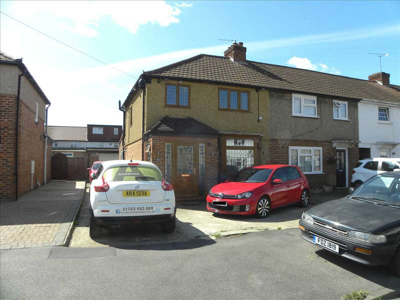 3 Bedrooms Semi Detached House for sale in Glanmore Road, Slough