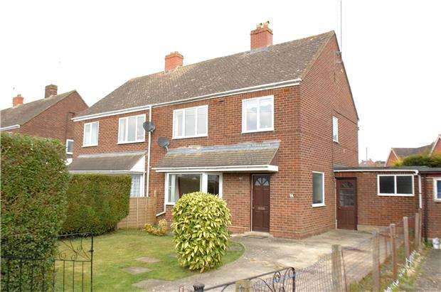 3 Bedrooms Semi Detached House for sale in Crescent Road, Stonehouse, Gloucestershire, GL10 2AN