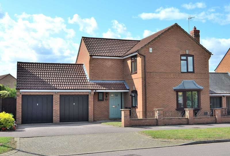 4 Bedrooms Detached House for sale in Holst Crescent, Old Farm Park