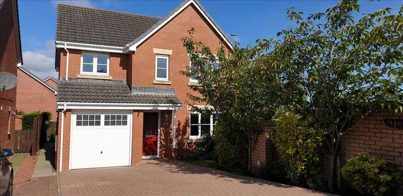 4 Bedrooms Detached House for sale in Groatholm Way, Kilwinning