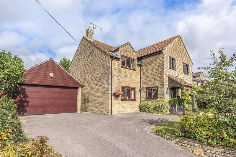 4 Bedrooms Detached House for sale in Higher Street, Norton Sub Hamdon, Somerset, TA14