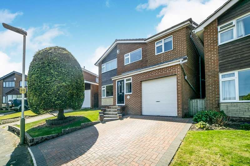 4 Bedrooms Detached House for sale in Hill Rise, Crawcrook, Ryton, Tyne And Wear, NE40