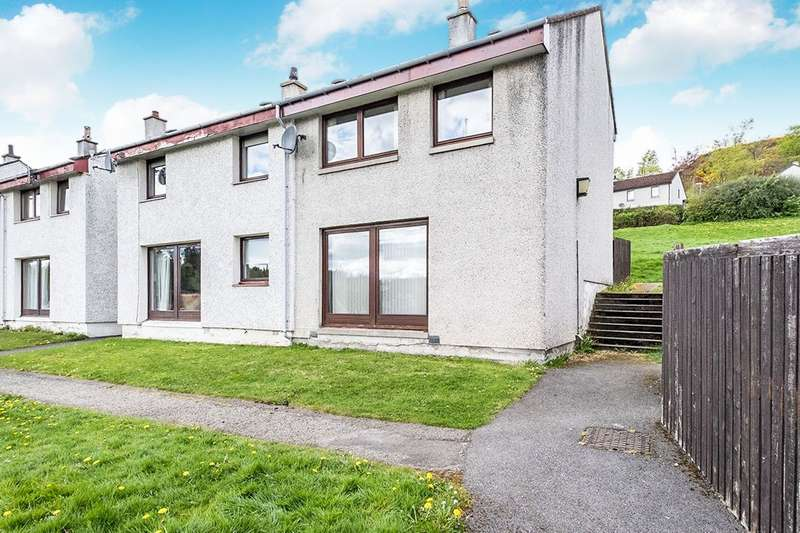 3 Bedrooms Semi Detached House for sale in Strathpeffer, Strathpeffer, Ross-Shire, IV14