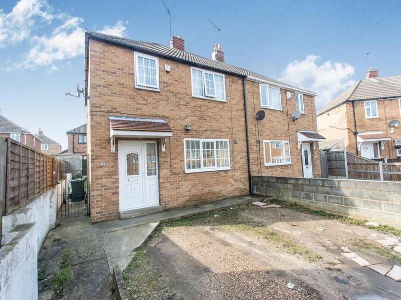 3 Bedrooms Semi Detached House for sale in Shakespeare Avenue, Campsall, DN6