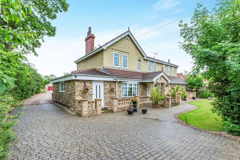 6 Bedrooms Detached House for sale in Moss Road, Moss, Doncaster, South Yorkshire, DN6