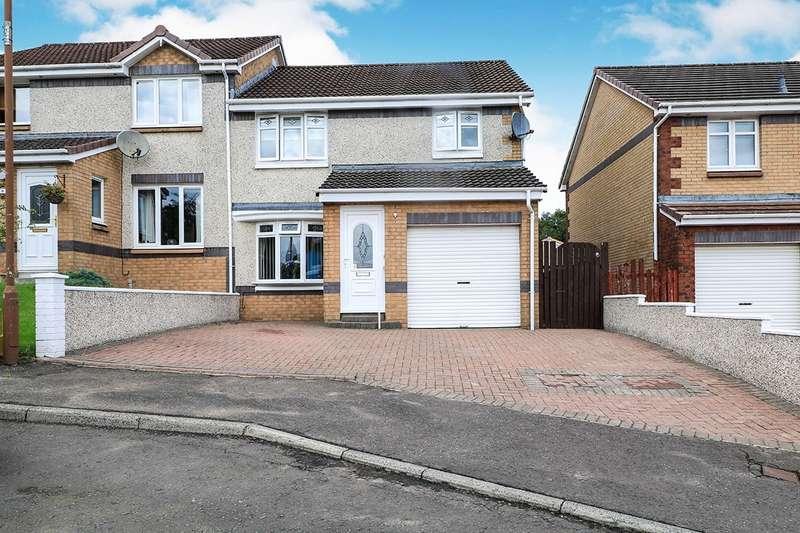 3 Bedrooms Semi Detached House for sale in Glen View, Dennyloanhead, FK4