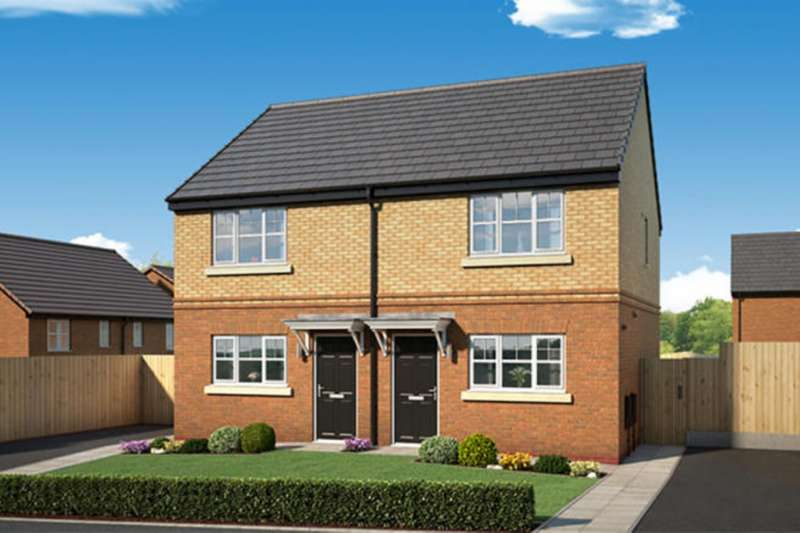 2 Bedrooms Semi Detached House for sale in Whalleys Road, Skelmersdale, WN8
