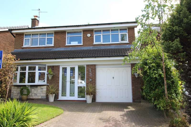 4 Bedrooms Detached House for sale in Eastleigh, Skelmersdale, Lancashire, WN8