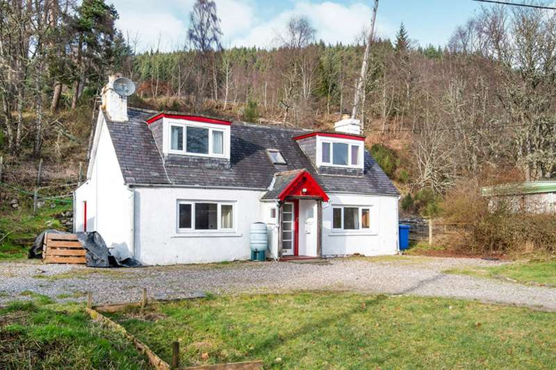 3 Bedrooms Detached House for sale in Cannich, Beauly, Inverness-Shire, IV4