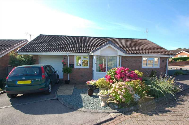 2 Bedrooms Detached Bungalow for sale in SEYMOUR CLOSE, BERRY HILL