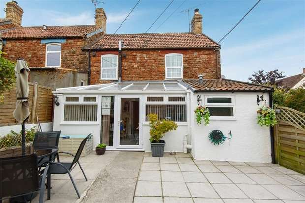 2 Bedrooms End Of Terrace House for sale in Redcliffe Street, Cheddar, Somerset