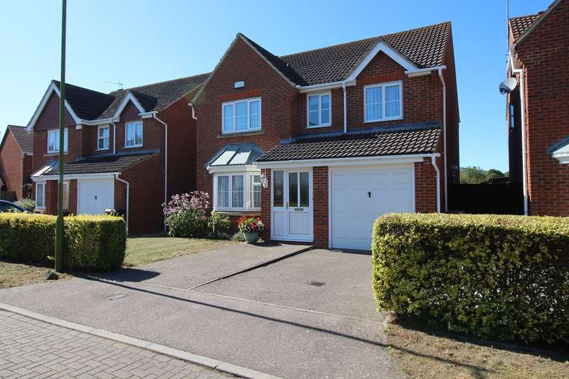 4 Bedrooms Detached House for sale in Cornflower Way, Hatfield, AL10