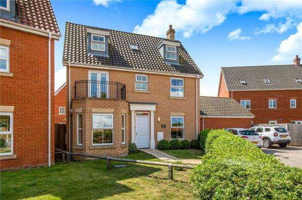 5 Bedrooms Detached House for sale in Mayhew Road, Rendlesham, Woodbridge