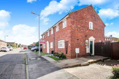 2 Bedrooms End Of Terrace House for sale in Bunting Road, Luton, Bedfordshire