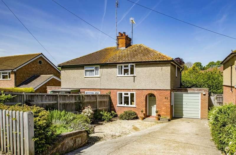 2 Bedrooms Semi Detached House for sale in Elvendon Road, Goring on Thames, RG8