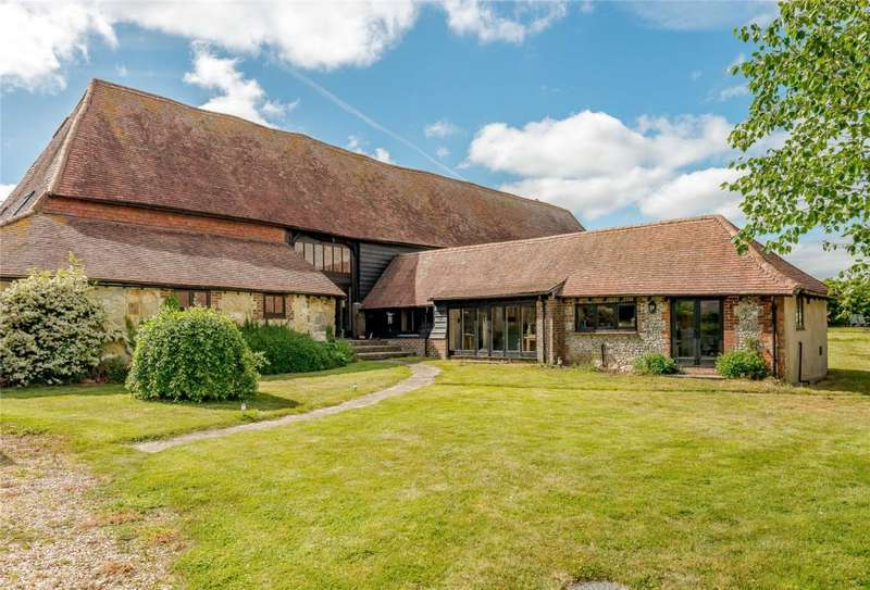 6 Bedrooms Barn Conversion Character Property for sale in Castle Lane, New Barn Road, Amberley, West Sussex, BN18