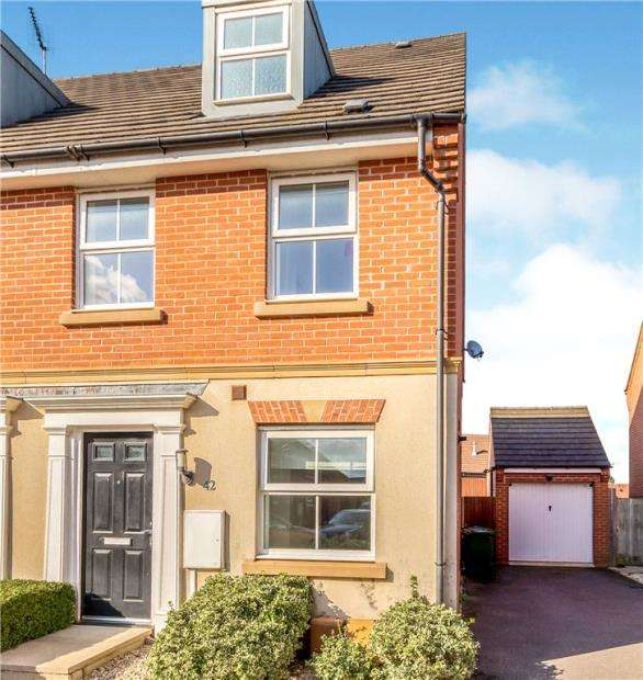 3 Bedrooms Semi Detached House for sale in Hillside Gardens, Wittering, Peterborough