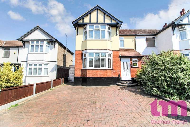 3 Bedrooms Semi Detached House for sale in Rectory Road, Little Thurrock