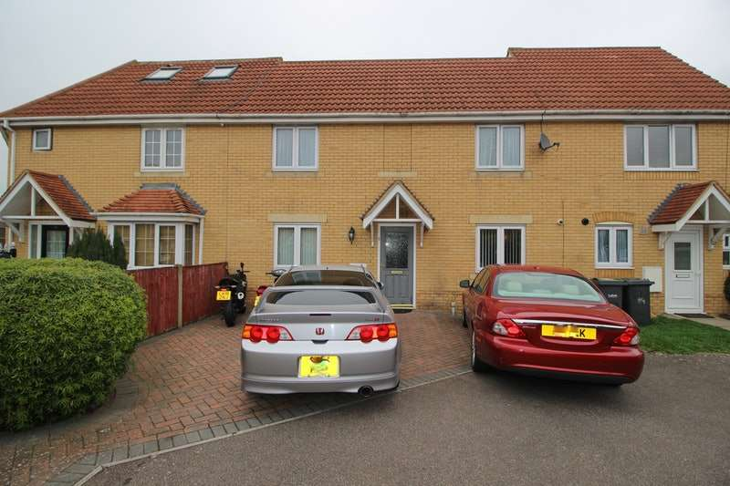 4 Bedrooms Terraced House for sale in Morgan Close, Luton, Bedfordshire, LU4