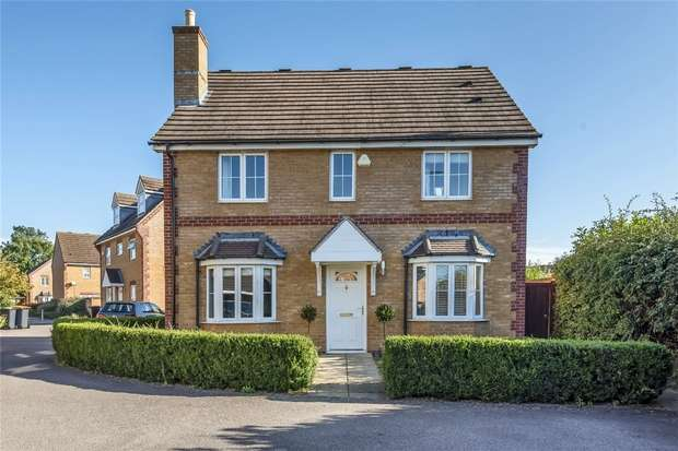 4 Bedrooms Detached House for sale in Spriggs Close, Clapham, Bedford
