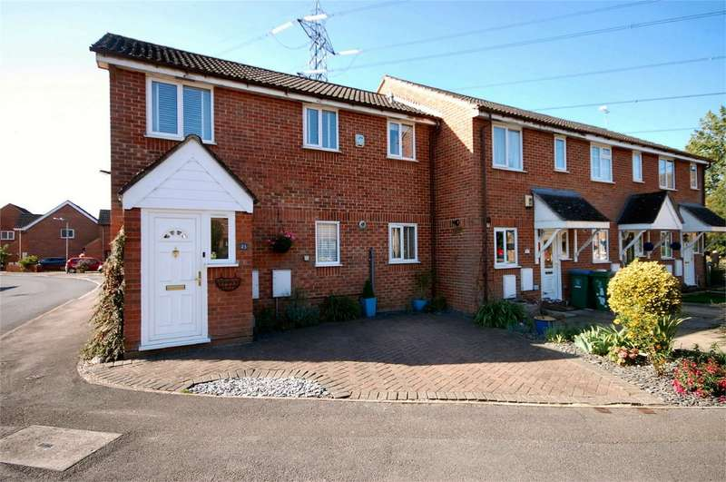 3 Bedrooms End Of Terrace House for sale in Dormer Close, Aylesbury, Buckinghamshire