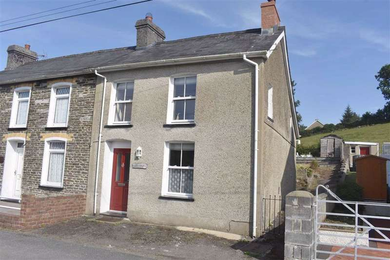 2 Bedrooms Semi Detached House for sale in Cribyn, Lampeter