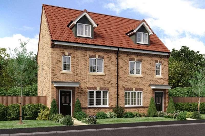 3 Bedrooms Semi Detached House for sale in Beacon Park, Joe Lane, Catterall, Preston, PR3
