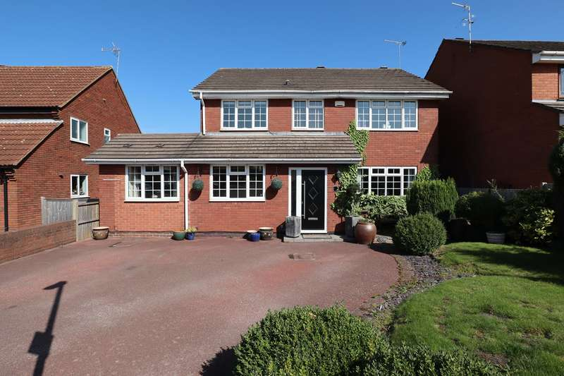 5 Bedrooms Detached House for sale in Greenside Close, Whitestone, Nuneaton, CV11