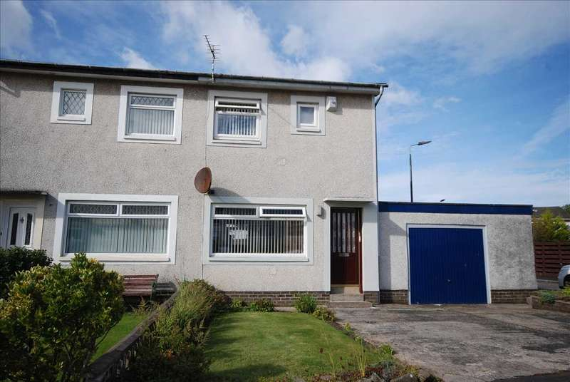 2 Bedrooms Semi Detached House for sale in Gullane Place, Kilwinning