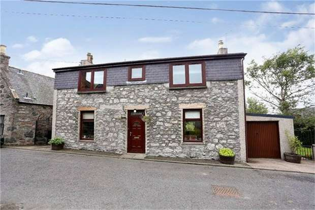 4 Bedrooms Detached House for sale in King Street, Oldmeldrum, Inverurie, Aberdeenshire