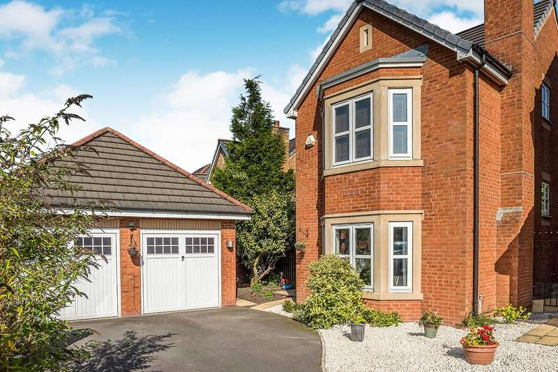 5 Bedrooms Detached House for sale in Begonia Gardens, St. Helens, Merseyside, WA9