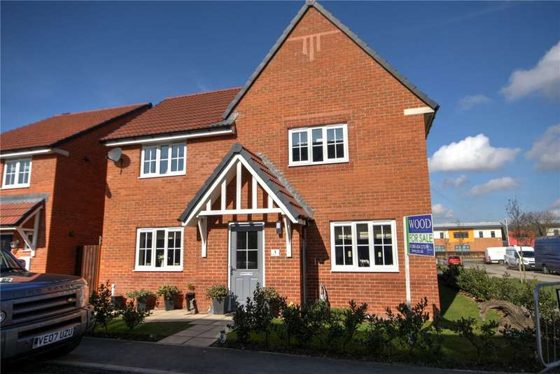 4 Bedrooms Detached House for sale in Faraday Close, Spennymoor, County Durham, DL16