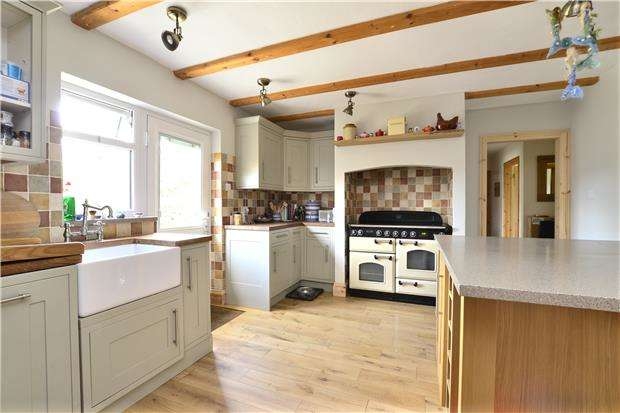 5 Bedrooms Semi Detached Bungalow for sale in Karimar, Burford Road, Brize Norton, Oxfordshire, OX18 3NN