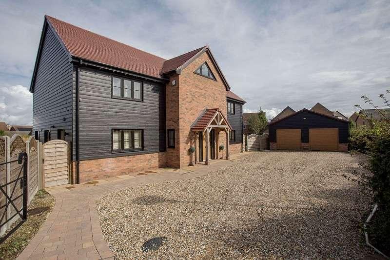6 Bedrooms Detached House for sale in Winsor Crescent, Hampton Vale, Peterborough, Cambridgeshire. PE7 8JG