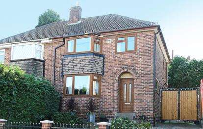 3 Bedrooms Semi Detached House for sale in Lowburn Road, Sheffield, South Yorkshire