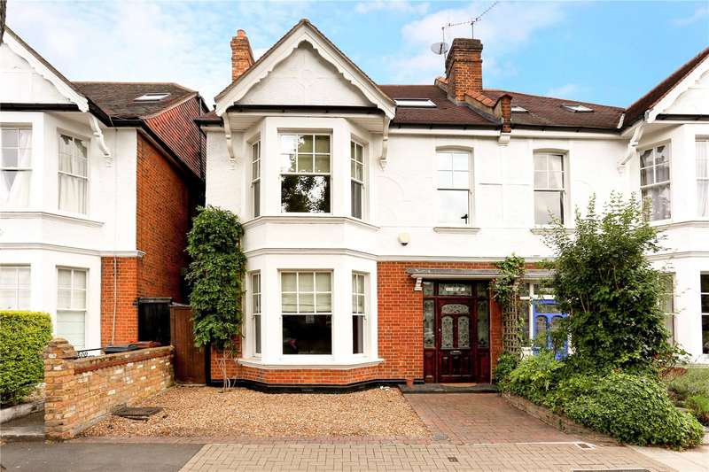5 Bedrooms Semi Detached House for sale in Hadley Gardens, London, W4
