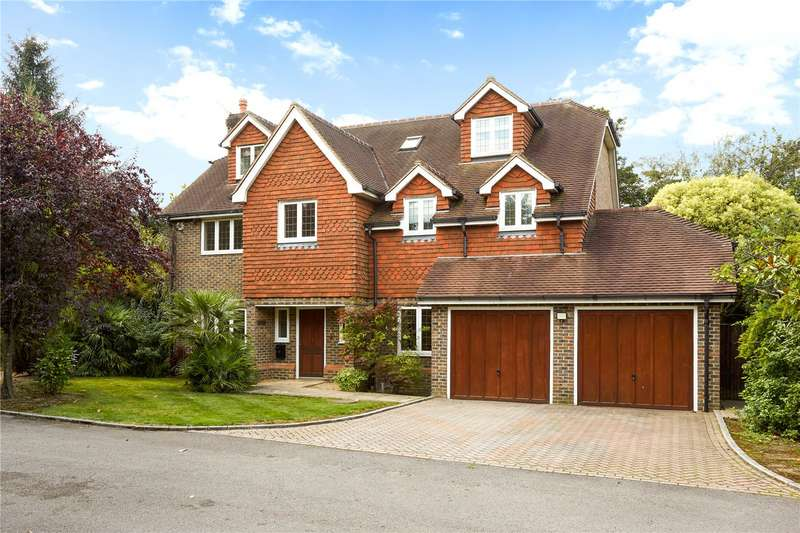 6 Bedrooms Detached House for sale in Caerleon Close, Claygate, Esher, Surrey, KT10