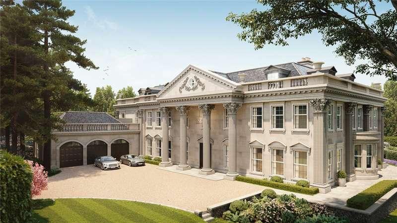 11 Bedrooms Detached House for sale in Queens Drive, Oxshott, Leatherhead, Surrey, KT22