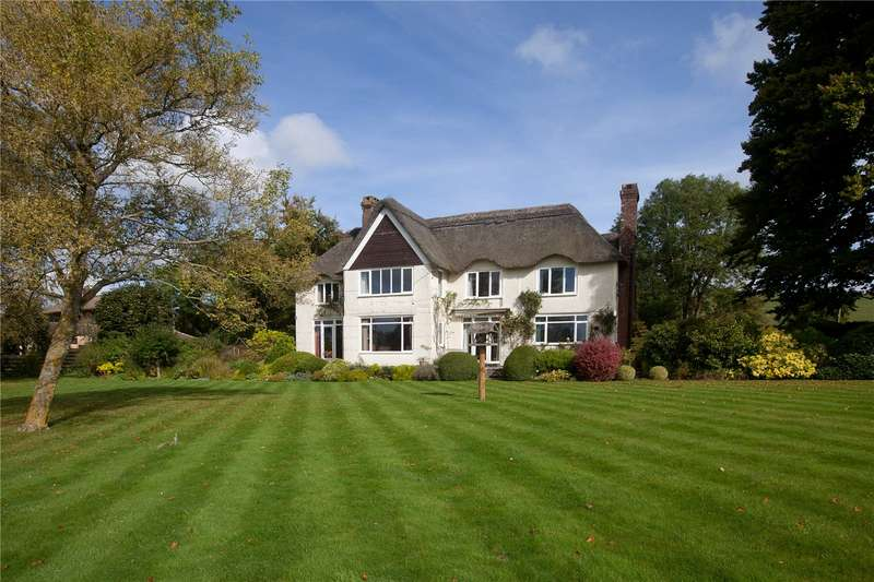 4 Bedrooms Detached House for sale in Upton Lovell, Warminster, Wiltshire, BA12