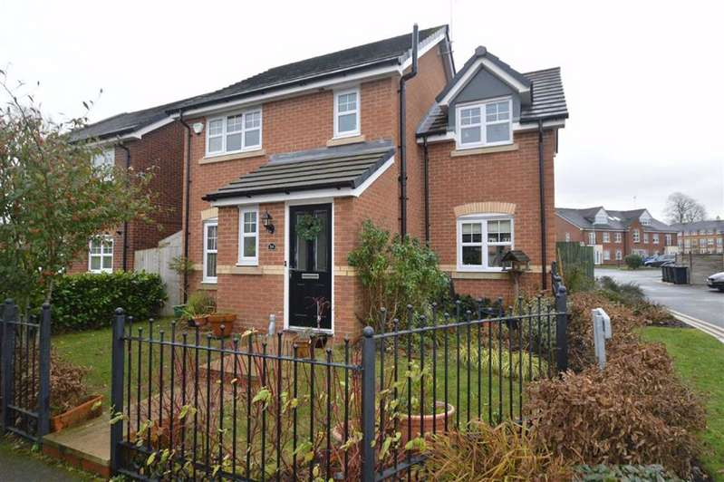 4 Bedrooms Detached House for sale in Wallbrook Avenue, Macclesfield