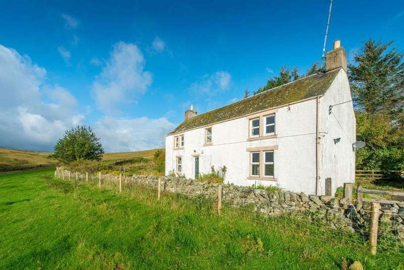 3 Bedrooms Detached House for sale in Glengelt Farmhouse, Oxton, Lauder, Scottish Borders, TD2