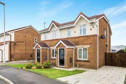 2 Bedrooms Semi Detached House for sale in Wisteria Drive, Lower Darwen, Darwen, Lancashire