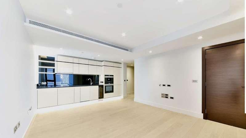 1 Bedroom Apartment Flat for sale in The Corniche, Albert Embankment, SE1