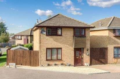 4 Bedrooms Detached House for sale in Favell Drive, Furzton, Milton Keynes, Buckinghamshire