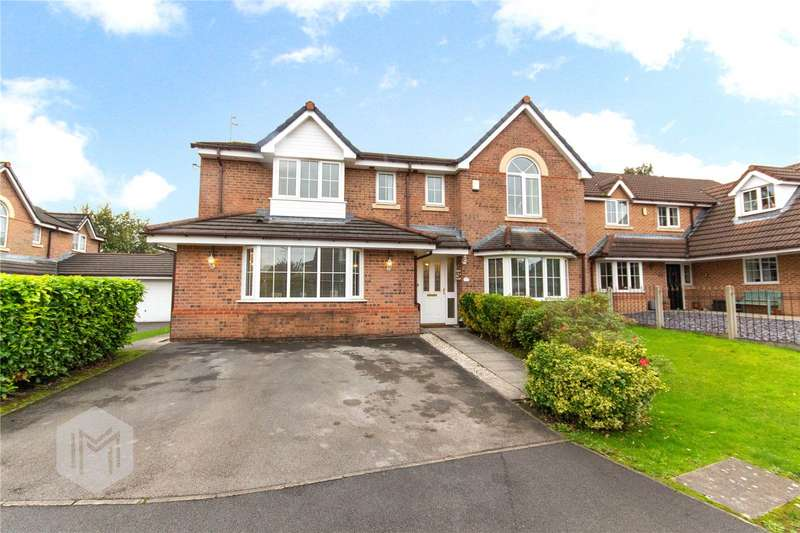5 Bedrooms Detached House for sale in Willow Drive, Bury, Greater Manchester, BL9